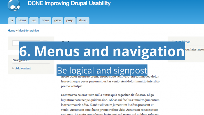 10 UX Changes for Every Drupal Site- Drupal North East_Page_21