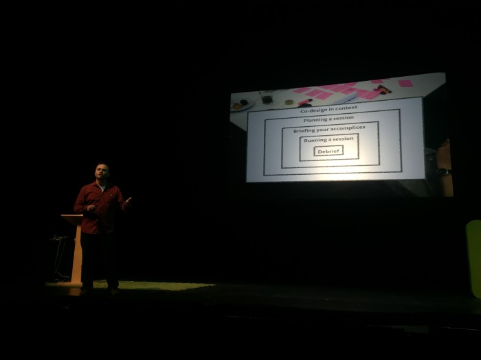 Stavros Garzonas on the layers of co-design