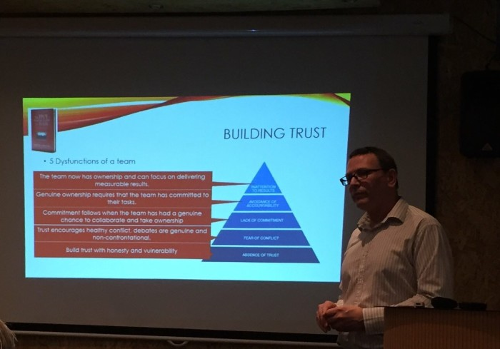 Phillip Steele on different ways to build trust