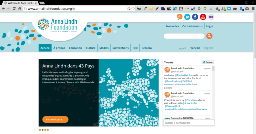 Anna Linh: French site
