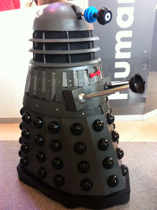 Dalek Up Close